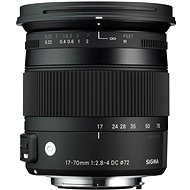 SIGMA 17-70mm F2.8-4 DC MACRO OS HSM for Canon (Contemporary) - Lens