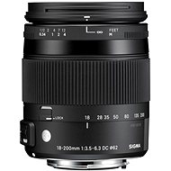 SIGMA 18-200mm F/3.5-6.3 DC MACRO OS HSM for Canon (Contemporary Series) - Lens