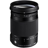 SIGMA 18-300mm F3.5-6.3 DC MACRO OS HSM for Canon (Contemporary Series) - Lens