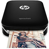 HP Sprocket Photo Printer black - mobile printer