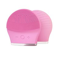 PALSAR7 Ultrasonic Silicone Face Brush (Light Pink) - Cleaning Kit