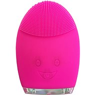 Palsar7 Round electric massage brush for cleansing the skin, dark pink - Cosmetic device
