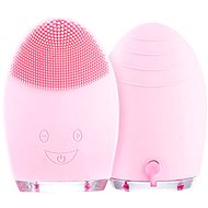Palsar7 Round electric massage brush for cleansing the skin, light pink - Cosmetic device