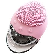 Palsar7 Silicone skin cleansing brush with pad, light pink - Cosmetic device
