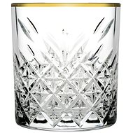PASABAHCE TIMELESS GOLDEN TOUCH Whisky 34.5cl - Whiskey Glasses
