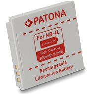 PATONA for Canon NB-4L 600mAh Li-Ion - Camera battery