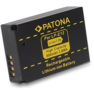 PATONA Replacement Battery for Canon LPE12 800mAh Li-Ion - Camera battery