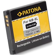 PATONA for Canon NB-8L 740mAh Li-Ion - Camera battery