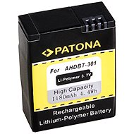 PATONA for GoPro HD Hero 3 1180 mAh Li-Ion - Camcorder Battery