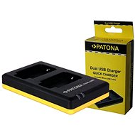 PATONA Photo Dual Quick Panasonic DMW-BCM13 - Battery Charger