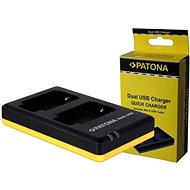 PATONA Photo Dual Quick Panasonic DMW-BLF19 - Battery Charger