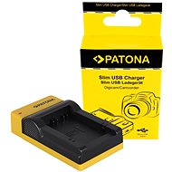 PATONA Photo Panasonic DMW-BMB9 Slim, USB - Battery Charger