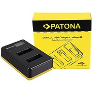 PATONA Dual LCD Charger for Sony NP-BX1, USB - Charger