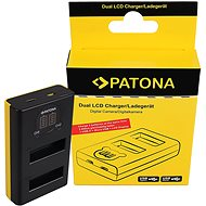 PATONA for Dual Pro for DJI Osmo Action - Battery Charger