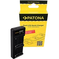 PATONA Dual LCD Charger for Sony F550/F750/F970 - USB - Charger