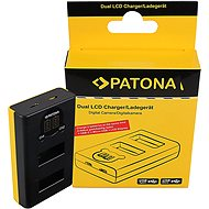 PATONA for Dual GoPro MAX with LCD - Battery Charger