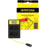 PATONA Dual Charger for Nikon EN-EL14 with LCD, USB - Charger