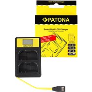 PATONA Battery Charger for Dual Nikon EN-EL15 with LCD, USB - Battery Charger
