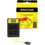 PATONA for Dual Panasonic DMW-BLC12 E with LCD, USB - Battery Charger