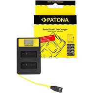 PATONA for Dual Panasonic DMW-BLG10 with LCD, USB - Battery Charger
