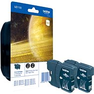 Brother LC-1100 Twin Pack Black - Cartridge