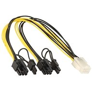 ANPIX Cable PCIe 6pin (F) to 2x 6+2pin(M)