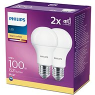 Philips LED 13-100W, E27 2700K, 2pcs - LED bulb