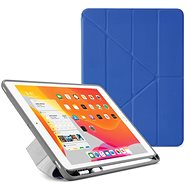 "Pipetto Origami Pencil Case for Apple iPad 10.2"" (2019) - Royal Blue - Tablet Case"