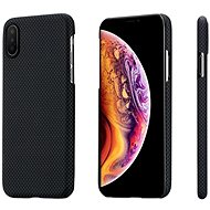 Pitaka Aramid Case Black/Grey Plain iPhone XS/X