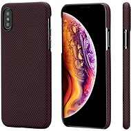 Pitaka Aramid Case Black/Red Plain iPhone XS/X