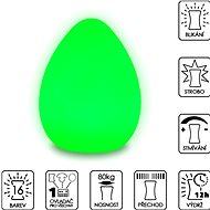 Colour Changing Egg (Large) - Decorative Lighting