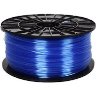 PLASTY MLADEČ 1.75mm PETG 1kg Transparent Blue - 3D Printing Filament