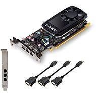 PNY NVIDIA Quadro P400 DVI - Graphics Card