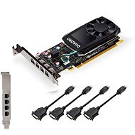 PNY NVIDIA Quadro P1000 DVI - Graphics Card