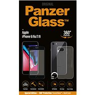 PanzerGlass for iPhone 6/6s/7/8 Premium Black + Case Included - Glass protector
