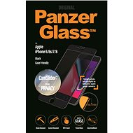 PanzerGlass Edge-to-Edge Privacy for Apple iPhone 6/6s/7/8 Black with CamSlider - Glass protector