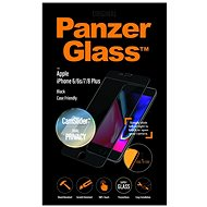 PanzerGlass Edge-to-Edge Privacy for Apple iPhone 6 Plus/6s Plus/7 Plus/8 Plus Black with CamSlider - Glass protector
