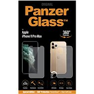 PanzerGlass Standard Bundle for Apple iPhone 11 Pro Max (Standard Fit + Clear TPU Case)