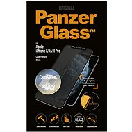 PanzerGlass Edge-to-Edge Privacy for Apple iPhone X/XS/11 Pro Black with CamSlider