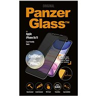 PanzerGlass Edge-to-Edge Privacy for Apple iPhone XR/11 Black with CamSlider