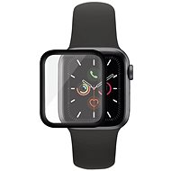 PanzerGlass SmartWatch for Apple Watch 4/5/6/SE 44mm Black Full-Adhesive - Glass protector