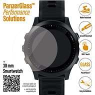 PanzerGlass SmartWatch for Various Watches (30mm), Clear (Samsung Galaxy Watch 3, 41mm) - Glass Protector