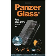 PanzerGlass Edge-to-Edge Antibacterial for Apple iPhone 12/iPhone 12 Pro, Black - Glass protector