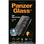 PanzerGlass Edge-to-Edge Antibacterial for Apple iPhone 12 Pro Max, Black - Glass protector