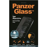 PanzerGlass Edge-to-Edge Privacy Antibacterial for Apple iPhone 12/iPhone 12 Pro, Black - Glass protector