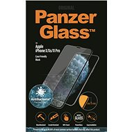 PanzerGlass Edge-to-Edge for Apple iPhone X/Xs/11 Pro, Black, with Anti-Bacterial Coating