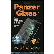 PanzerGlass Edge-to-Edge for Apple iPhone Xs Max/11 Pro Max, Black, with Anti-Bacterial Coating