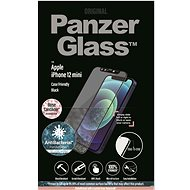 PanzerGlass Edge-to-Edge Antibacterial for Apple iPhone 12 mini with Pink Swarovski CamSlider - Glass Protector