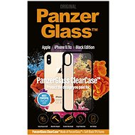 PanzerGlass ClearCase for Apple iPhone X/XS, Black Edition - Mobile Phone Case