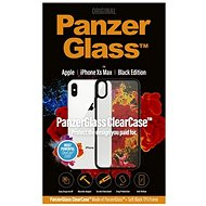 PanzerGlass ClearCase for Apple iPhone XS Max, Black Edition - Mobile Phone Case